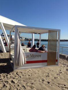Father's Day Market for men at Shimmy Beach Club Mumm Champagne, Beach Club, Sun Lounger, Gazebo, Deck, Marketing, Chaise Longue, Kiosk, Pavilion