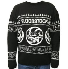 c heavy metal christmas air festival symphonic metal power metal holiday sweater - Metal Christmas Sweater