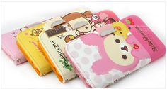 Leave your wallet at home and protect your LG G2with the Cute Rilakkuma Leather Wallet Case made in Korea with superior quality.