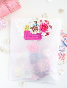 pretty gift bag | Flickr - Photo Sharing!