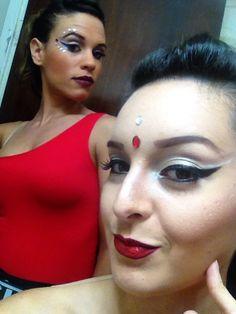Maquillaje y peinado por mi #dancermakeup