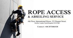 At Regency Cleaning we have built up a solid reputation for our rope access services, catering to clients throughout London who want to improve the appearance of their building and promote a professional image. Our cost effective service enables us to provide window, facade, gutter and cladding cleaning, helping to improve the overall appearance of your building with ease.