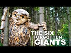 Guy Builds Giants From Wood And Hides Them In The Wilderness For People To Find