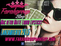 BEAUTY REPORT:Lanzamiento de MAC retro matte liquid lipsticks
