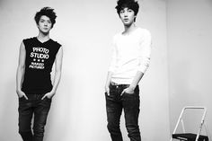 Kai & Sehun, from EXO