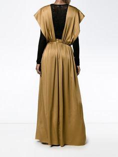 Lanvin draped front dress