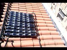 Aquecedor Solar Feito de Garrafas PET - #00 Reciclando - YouTube