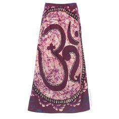 Batik Om Wrap Skirt