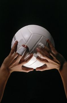 """Volleyball is a game of precision, power and teamwork on the court. For the most powerful setting in volleyball, it is common to tape two of your fingers together for added support and strength, which is a technique known as """"buddy taping. Beach Volleyball, Volleyball Memes, Volleyball Photos, Volleyball Setter, Volleyball Training, Volleyball Workouts, Coaching Volleyball, Volleyball Problems, Volleyball Party"""