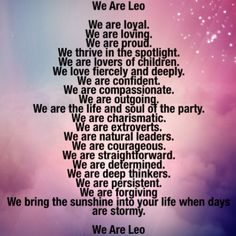 Answered by the Leo's on this account when asked why are you proud of your sign. Credit goes to you. #leo #astrology #badastrology #starsigns #zodiac