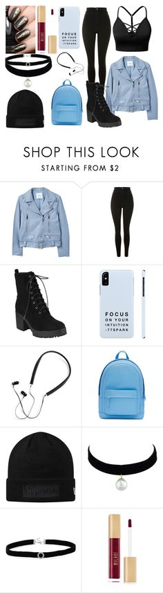 """Untitled #464"" by destiny-ivey on Polyvore featuring J.TOMSON, MANGO, Topshop, Polaroid, PB 0110 and BillyTheTree"