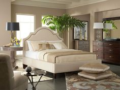 Rent the Fontaine King Headboard & Footboard