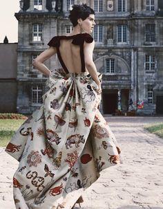 Didn't know it is Valentino either. God I have good taste! (Saskia de Brauw W Magazine October 2013 12 Saskia de Brauw for W Magazine) -- Valentino
