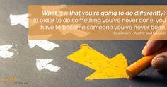 #MotivationalQuote by #LesBrown - - -  #MRMCanHelp #marketinghelp