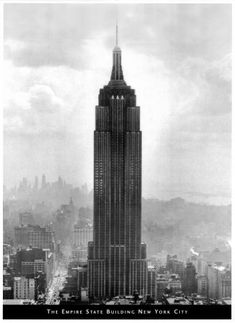 New York City, c.1931, The Empire State Building becomes tallest building in the world and the star of New York City
