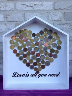 Nice, creative and original idea to give money at a wedding or birthday! #Handmade by Emile & Maayke