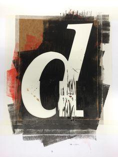caràcter D. tipografia Vic. VICCC Capital de la Cultura Catalana 2016 /  disseny  M F Gras.  Escola d'Art i Superior de Disseny de Vic. foto Toni García
