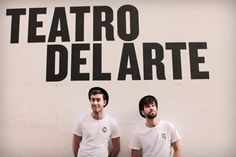 Jaime Reynolds y Fede Rey. Imagen: Mi Butaquita. #jaimereynolds #federey #teatrodelarte #teatro #teatromadrid