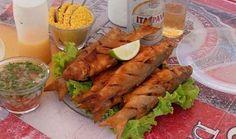 Os famosos peixes fritos