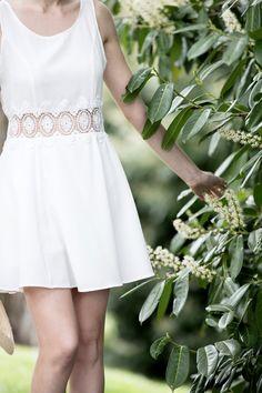Summer at Beau-Rivage Palace Hotel Beau Rivage, Palace, White Dress, Culture, Summer, Dresses, Fashion, Vestidos, Moda