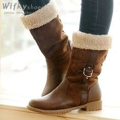 Buy 'Wifky – Fleece Lined Boots' with Free International Shipping at YesStyle.com. Browse and shop for thousands of Asian fashion items from South Korea and more!