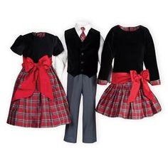Christmas Plaid Holiday Outfits