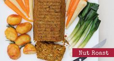 Easy to make and delicious hot or cold, nut roast is the classic main course for a veggie Christmas.