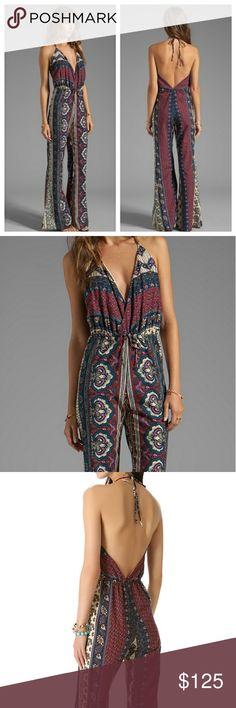 Spotted while shopping on Poshmark: Novella Royale Plum Tangier Boho Jumpsuit S! #poshmark #fashion #shopping #style #Novella Royale #Pants