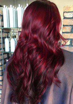 Hair Color 2018, Hair Color Auburn, Auburn Hair, Red Hair Color, Cool Hair Color, Auburn Colors, Red Hair Shades, Red Color, Magenta Hair Colors