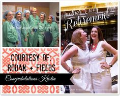 Two more of our business partners have officially entered early retirement, compliments of the lucrative Rodan and Fields business model.. both retired themselves from impassioned careers as nurse anesthetists..our business model is not a party company, no inventory, no paperwork, no handling money or deliveries..take the chance it really is what we claim it to be..let us show you how.Congrats   #bestskincare #bestbusiness  https://iLangman.myrandf.biz