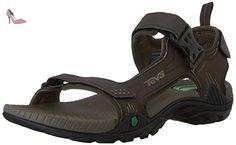 Teva Toachi 2 Hommes Marron Cuir Chaussures Sandales Pointure EU 45 - Chaussures teva (*Partner-Link)