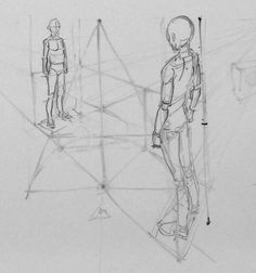 Perspective on art Drawing Practice, Drawing Skills, Drawing Poses, Drawing Techniques, Drawing Ideas, Anatomy Sketches, Anatomy Drawing, Manga Drawing, Art Sketches