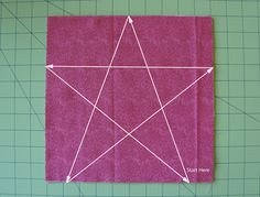 Tutorial — 5 Point Star Quilt Block (Technique 2) : jmday.com.  This is really slick!!