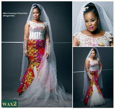 «Noces de wax» est un nouvelle émission de télé-réalité à l'africaine plutôt originale!Le concept: sous le thème de la tenue de mariage en pagne wax, 4candidates présentent leurs nocesde mariage, depuis le début des préparatifs jusqu'à la célébration. Noces de wax peut compter sur la collaboration de grands noms de la mode en Côte d'Ivoire: ... African Wear, African Women, African Dress, African Clothes, Afro Chic, Queen Wedding Dress, African Wedding Attire, African Weddings, African Print Fashion