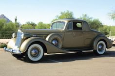 1937 Packard  Coupe  series 1507 with V-12 engine.Sold for USD165000