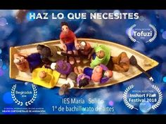 """""""Amazing news! """"Do what is need"""" (Haz lo que necesites) The animation made by high school students of the IES Maria Soliño for the project was just selected by 2018 from Nigeria. What Is Need, High School Students, Lunch Box, Animation, Ethnic Recipes, Youtube, Projects, News, Twitter"""