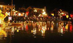 Hoi An de noche, Vietnam
