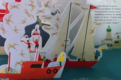 Under the Ocean - pop up book Illustration Techniques, Illustration Art, Up Book, Book Art, Pop Up, Leaflet Layout, Under The Ocean, Paper Pop, Print Layout