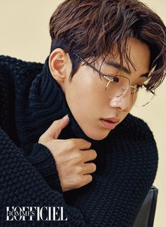Nam Joo Hyuk L'Officiel Hommes Korea November 2016 Look 4