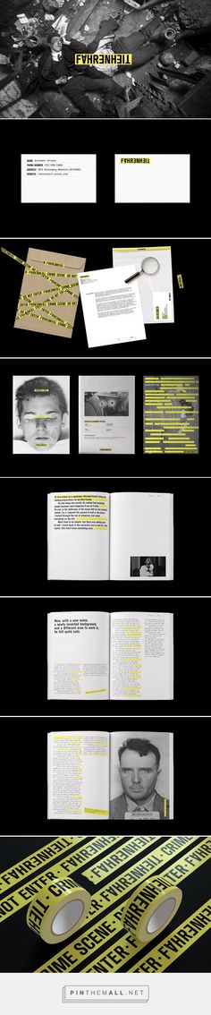 Fahrenheit Press Branding by HyeRi Hyun | Fivestar Branding Agency – Design and Branding Agency & Curated Inspiration Gallery