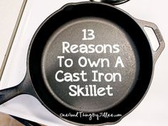 One amazing way is that it puts iron back in your body. Amazing Blueberry Pancakes And 13 Other Reasons To Own A Cast Iron Skillet!
