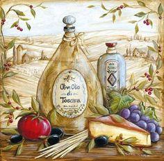 "Photo from album ""Прованс"" on Yandex. Vintage Labels, Vintage Cards, Vintage Images, Decoupage Vintage, Kitchen Prints, Kitchen Art, Vintage Prints, Vintage Posters, Country Art"