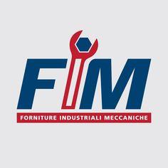 Per Fim - Forniture industriali meccaniche , #logo e #grafica by E-direct #adv #style #industrial