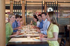 Det nye AIDAmar restaurant