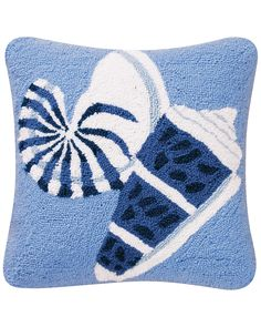 "Spotted this ""Shells"" Decorative Pillow on Rue La La. Shop (quickly!)."