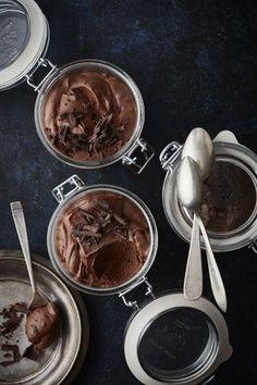 ČOKOLÁDOVÁ PĚNA Chocolate Fondue, Panna Cotta, Pudding, Food, Dulce De Leche, Custard Pudding, Essen, Puddings, Meals