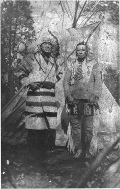 Blackfeet (Pikuni) men - no date