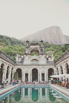 #Brazil #Rio #RioDeJaneiro #Colour #Color #Architecture #Inspiration #Lake #Building #LagePark