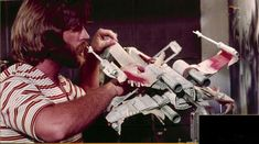 Building a X-wing starfighter for the Star Wars movie