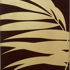 Gold Palm wall art from Graham  Brown